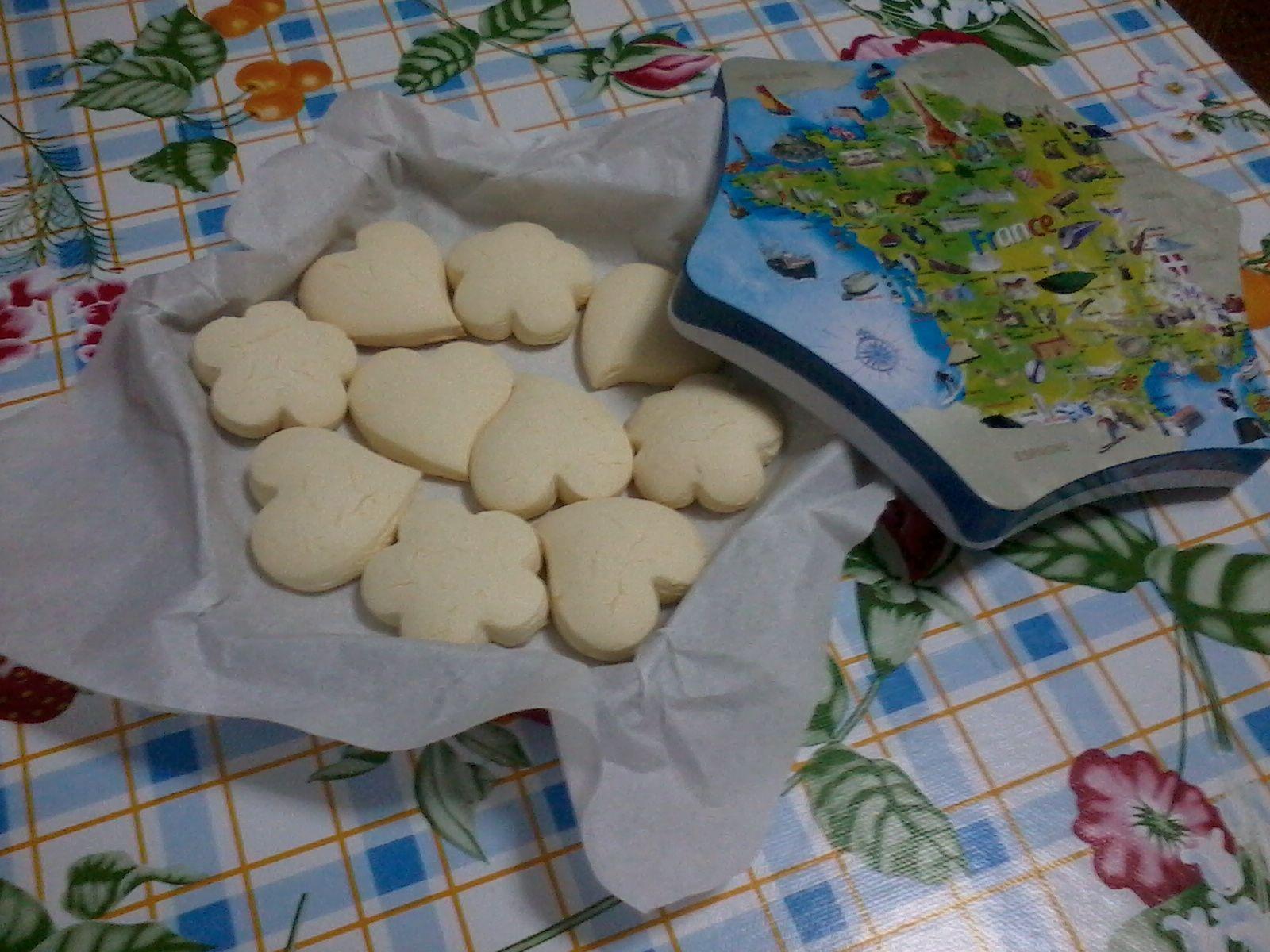 Biscoitinhos de amido de milho
