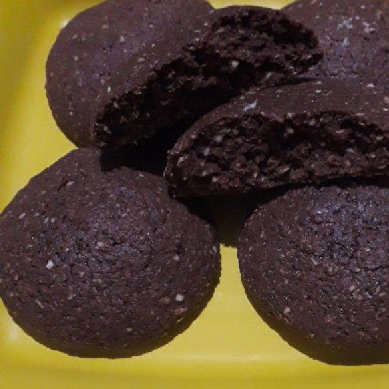 Biscoito de aveia com chocolate
