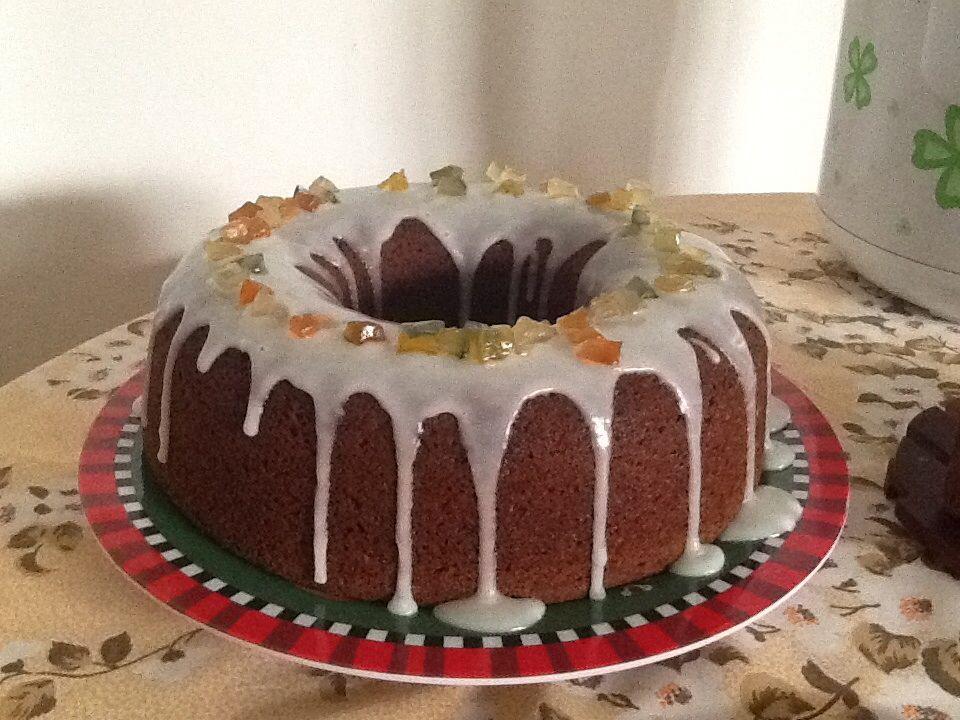 Bolo de Reis (bolo de frutas)