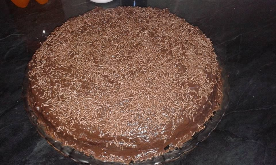 Cobertura ou recheio para bolos