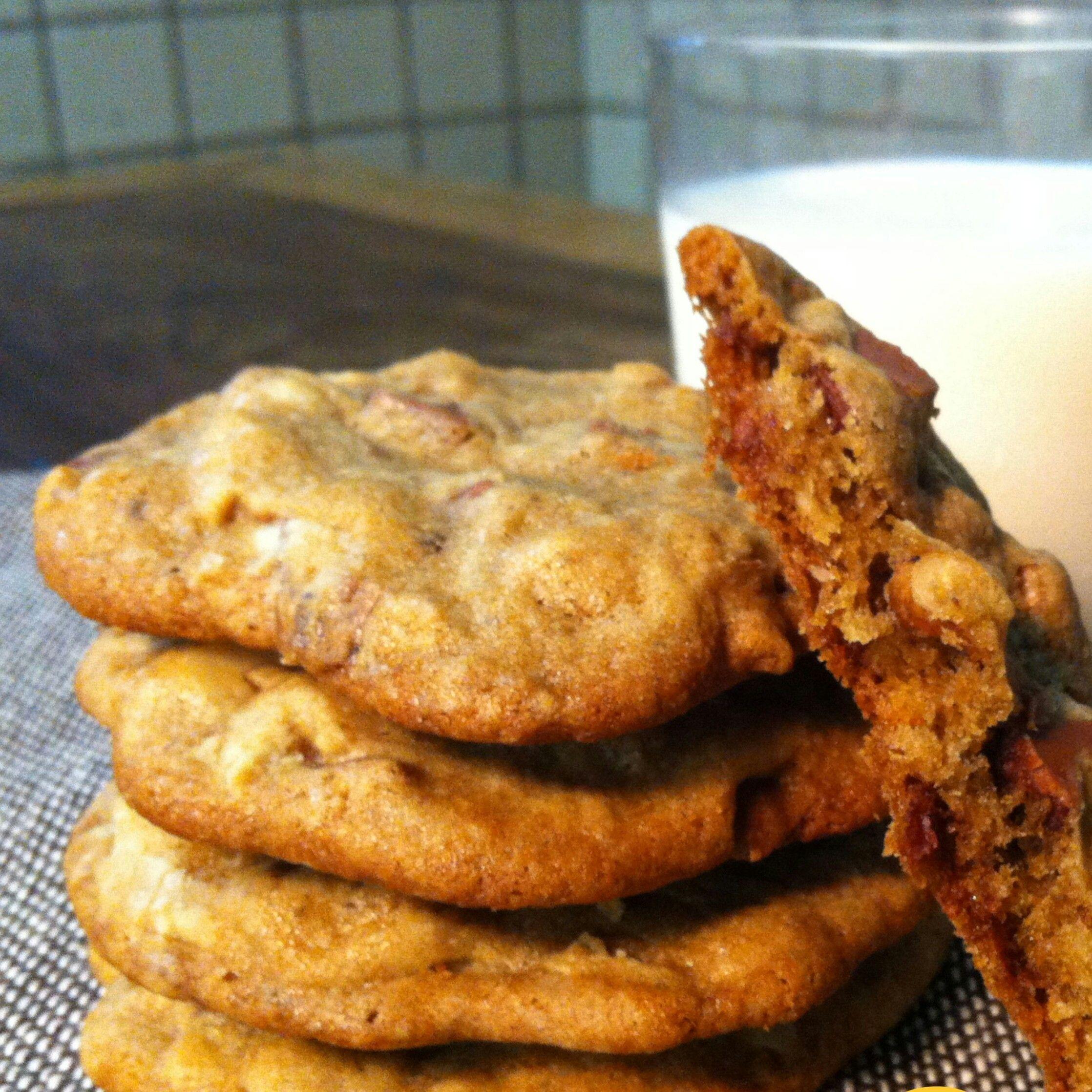 Cookie de nozes e chocolate