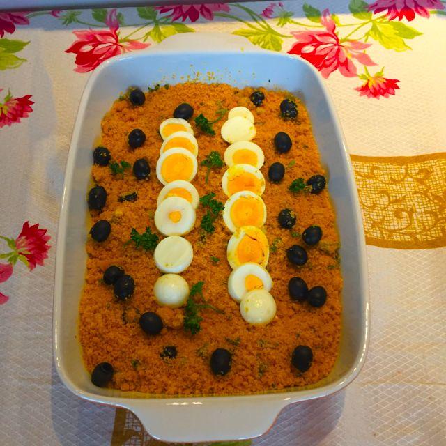 Farofa de cenoura da D. Helena