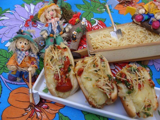 Hot dog junino da Abima