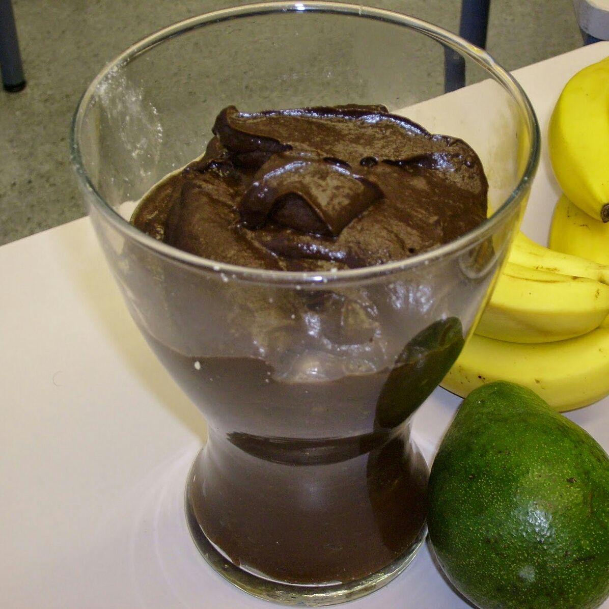 Mousse de chocolate fit/light