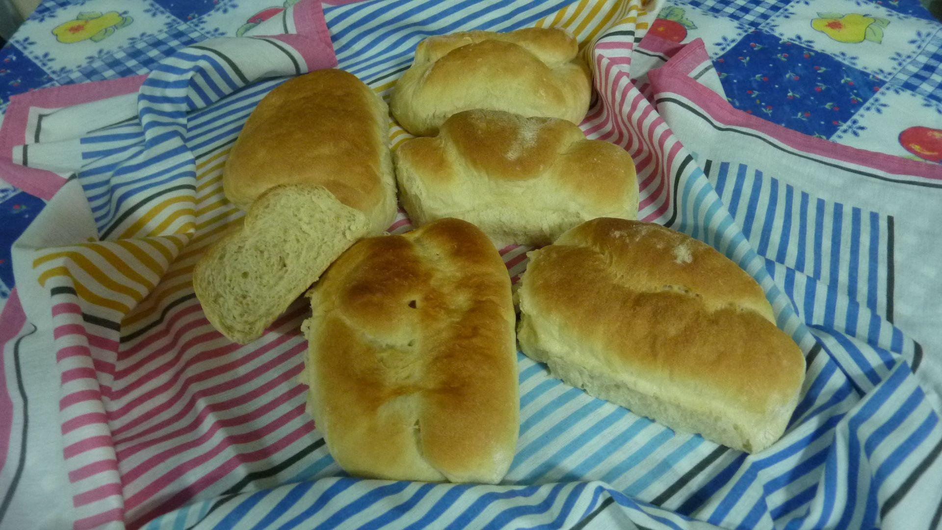 Pão caseiro facim facim