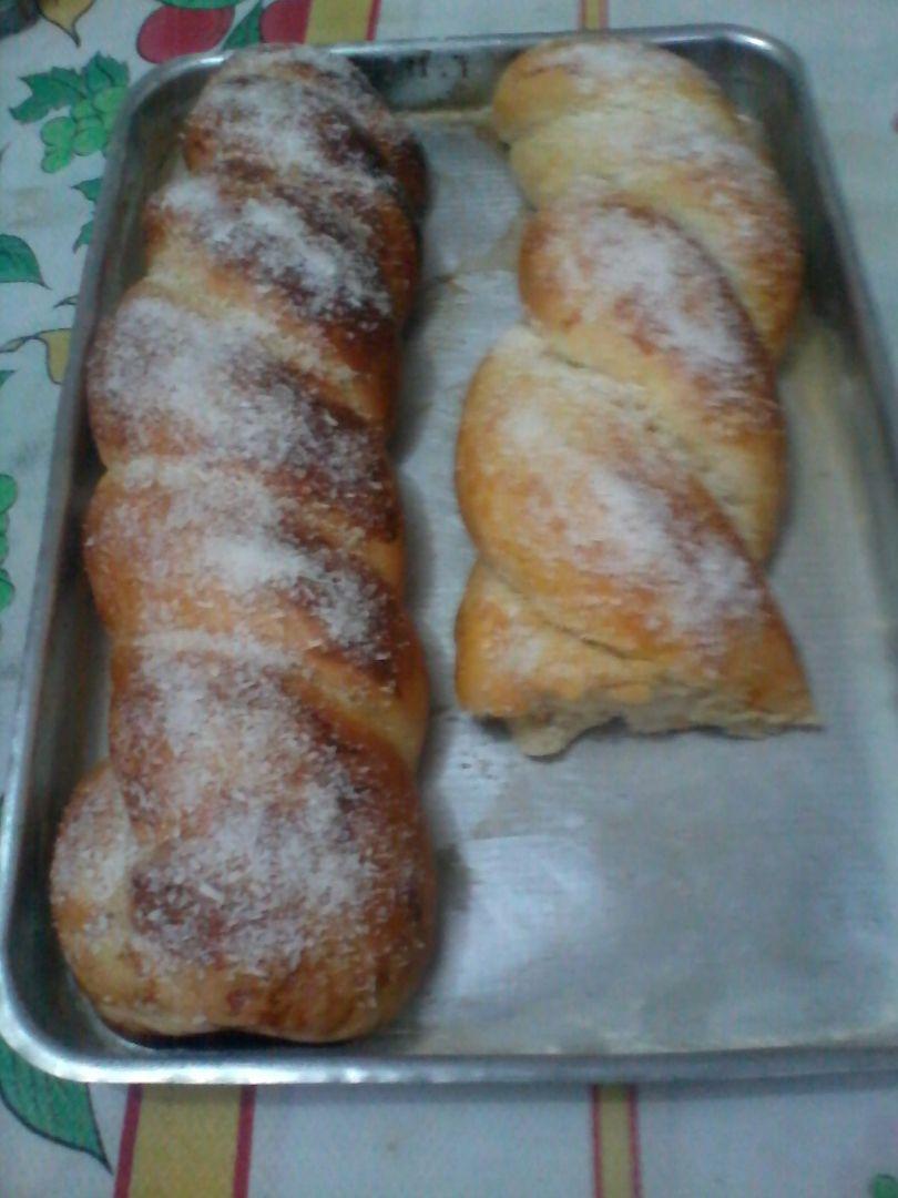Pão caseiro simples (pão sovado)