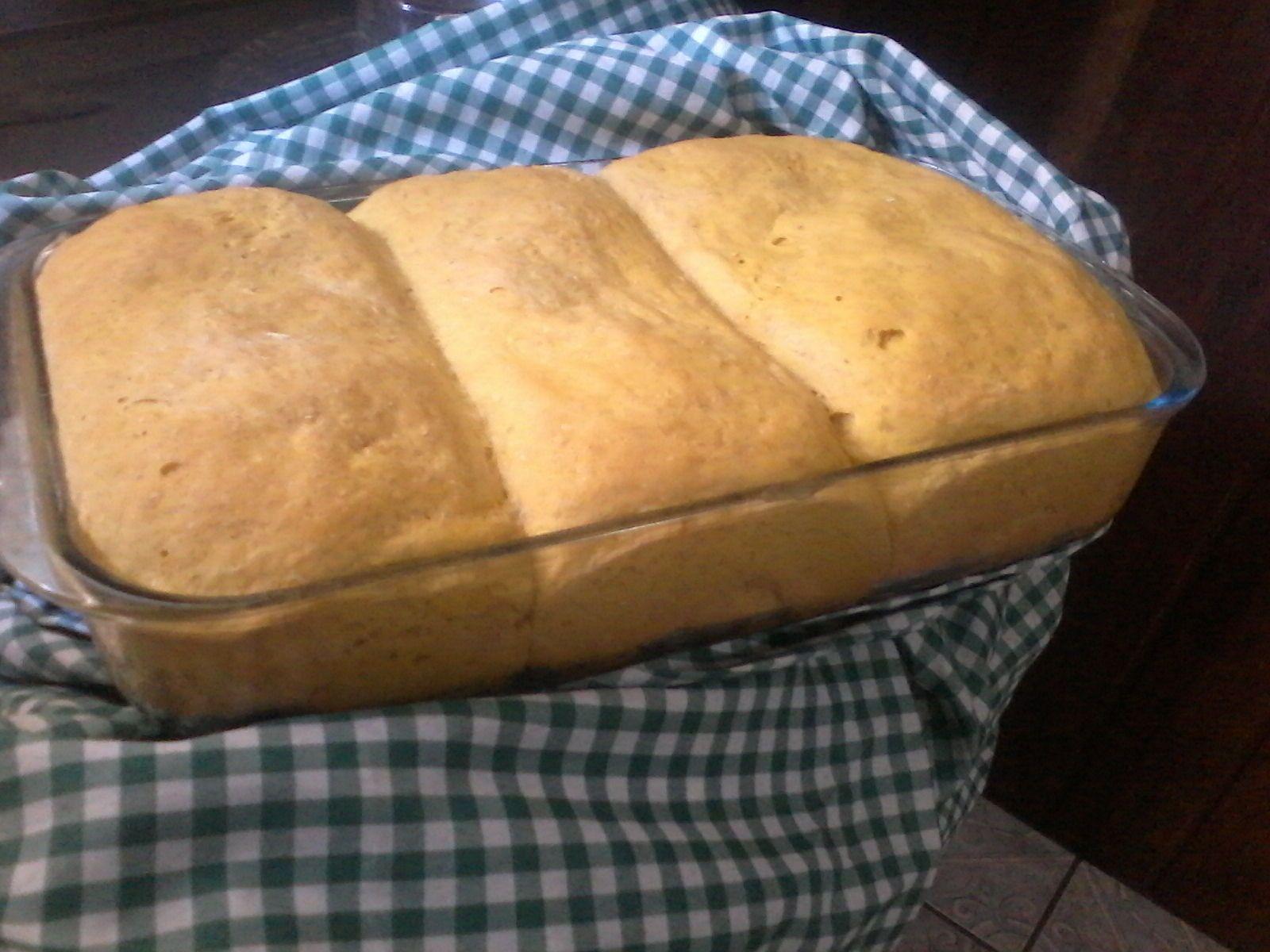 Pão de cenoura saudável