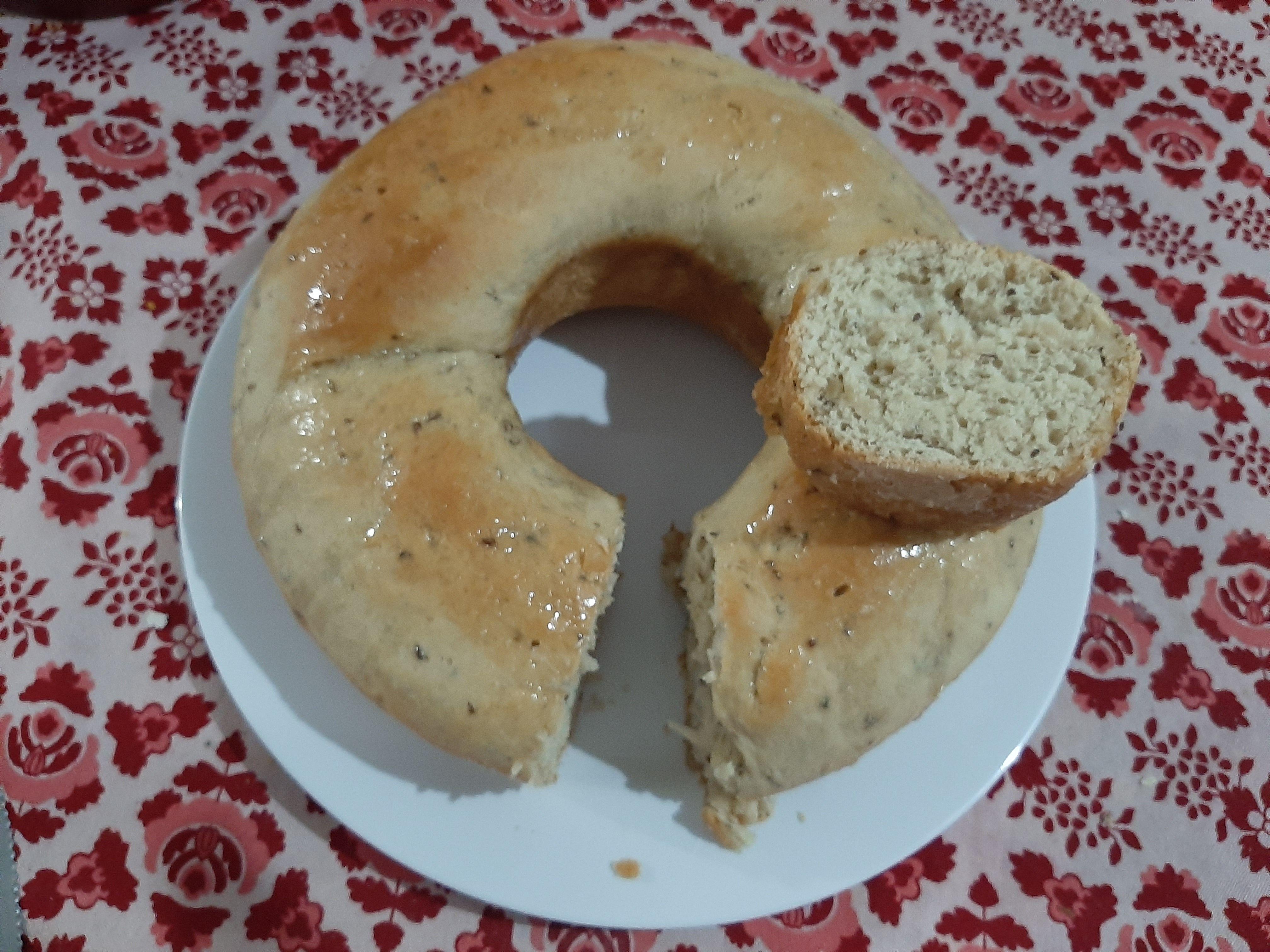 Pão de festa (de tabuleiro com erva doce)