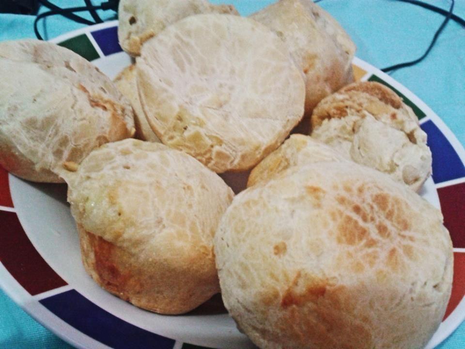 Pão de queijo francês (Camembert)