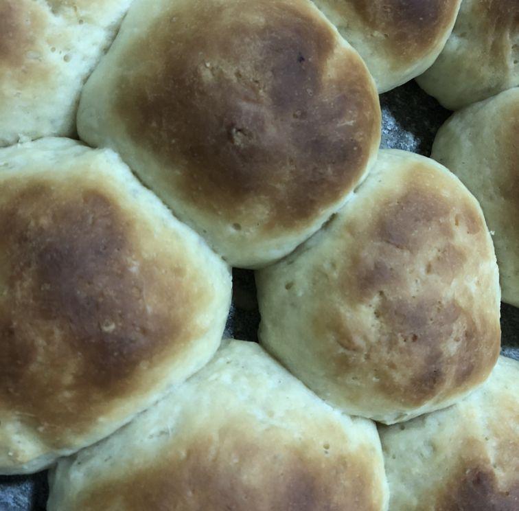 Pão doce com massa mole
