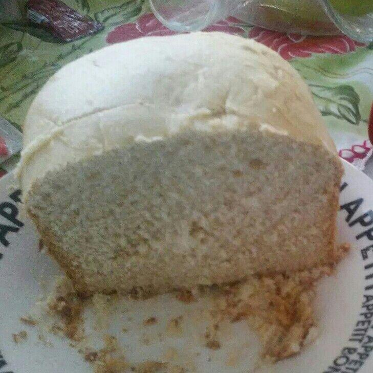 Pão doce feito na máquina de pão