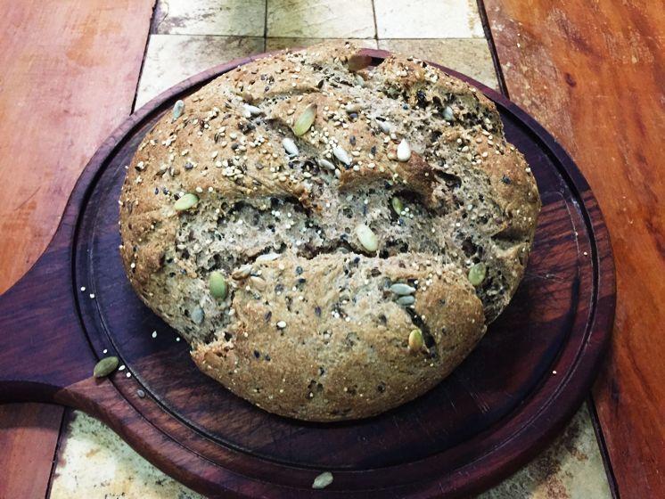 Pão integral multi grãos
