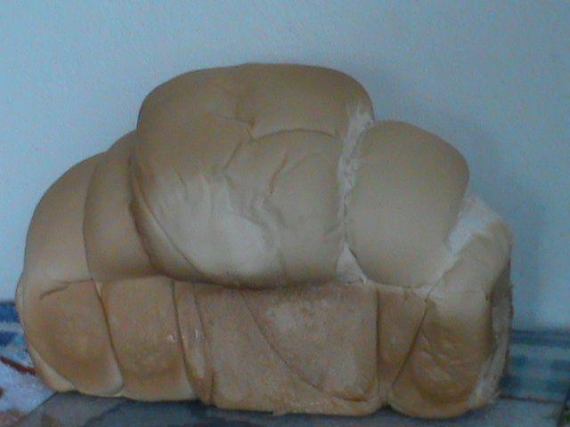 Pão sovado da Kika