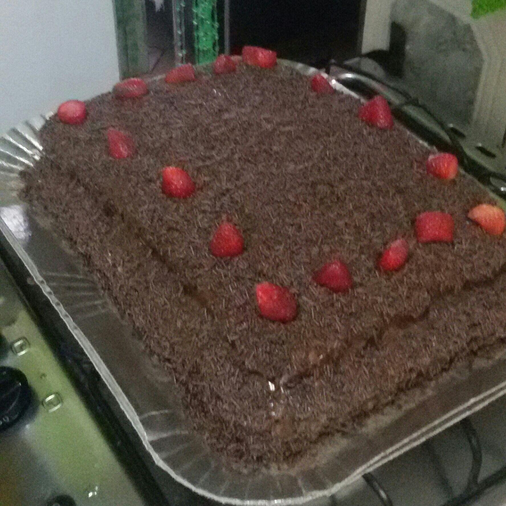 Recheio de chocolate para bolos, tortas, doces, sorvetes