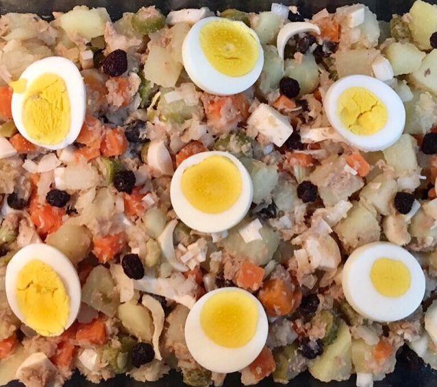 Salada de atum light