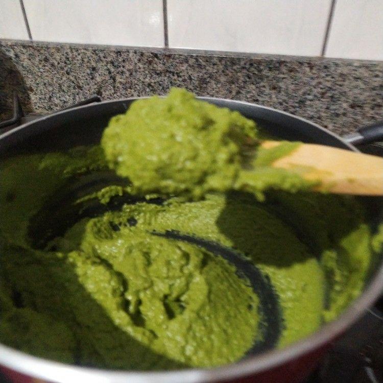 Souflé de espinafre da D. Zuleika