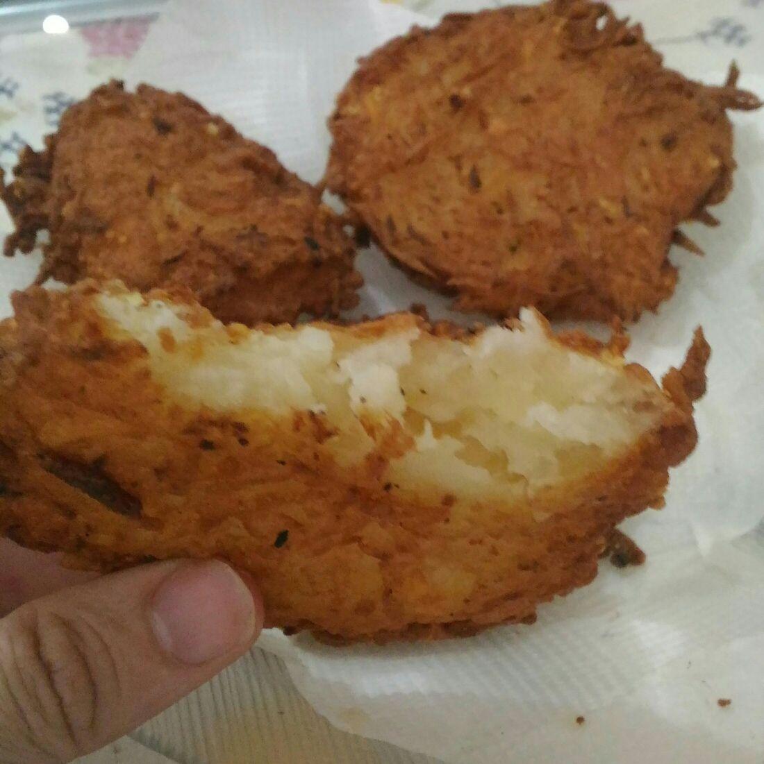 Tempurá de batata