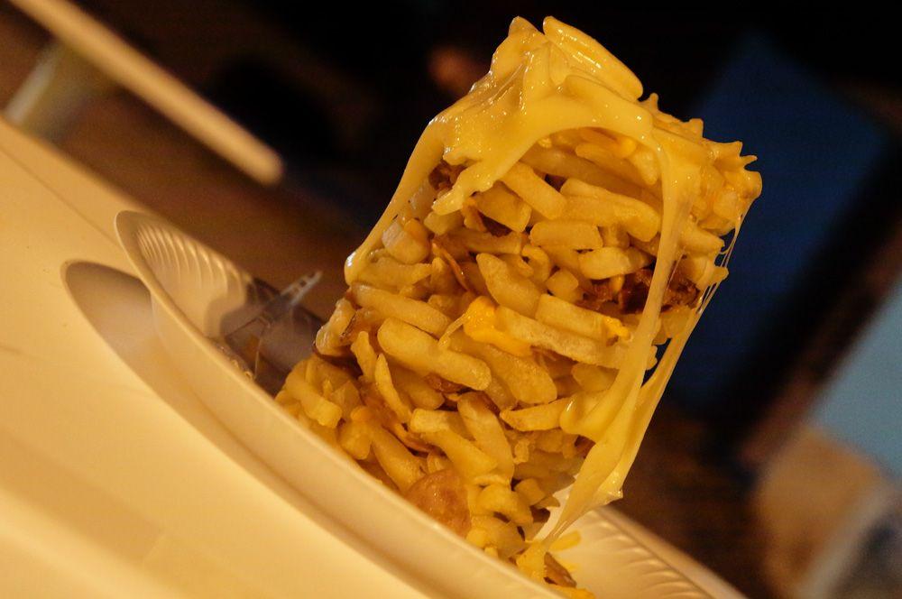 Torre de batata frita baiana
