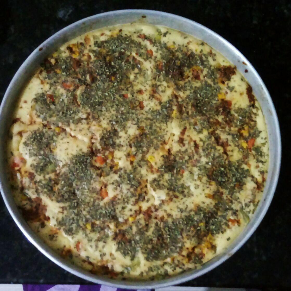 Torta de carne moída e legumes da Day