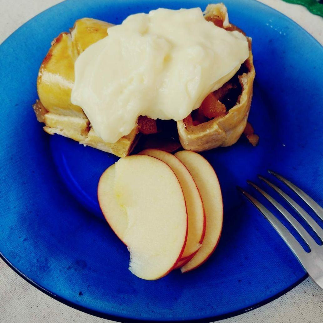 Torta de maçã – Apfelstrudel