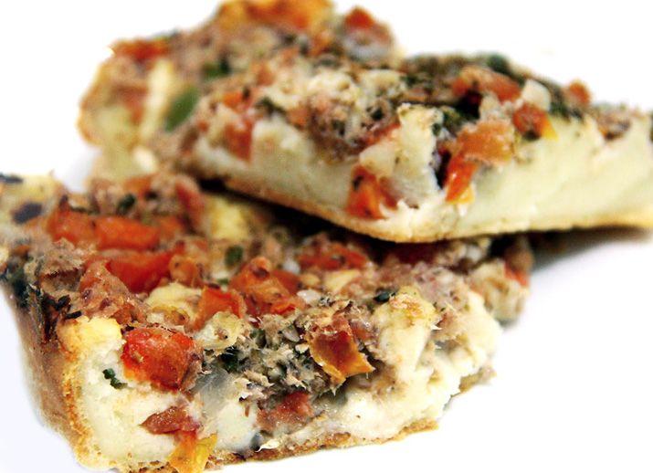 Torta de Sardinha ou Pizza Jacó