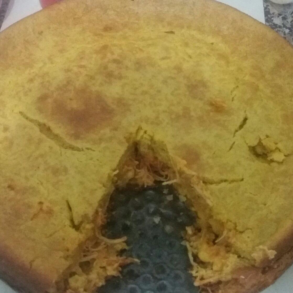 Torta integral de frango