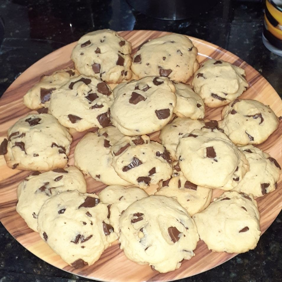 Cookies sem açúcar mascavo