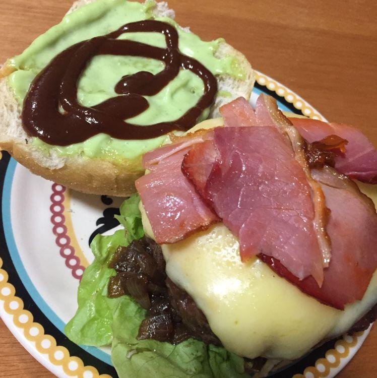Hambúrguer barbecue