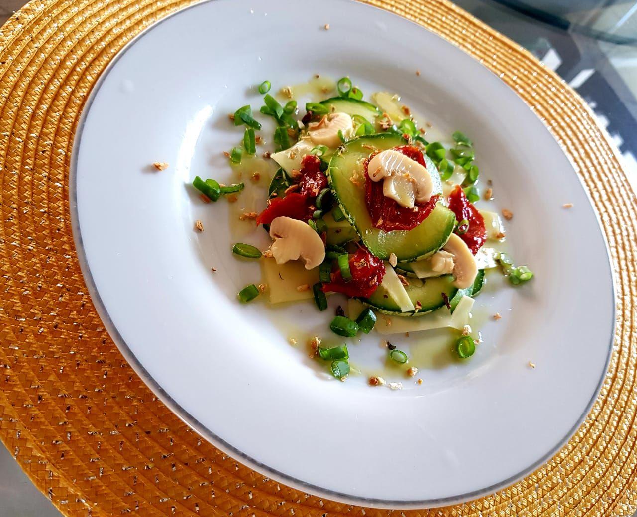 Salada de abobrinha da Nana