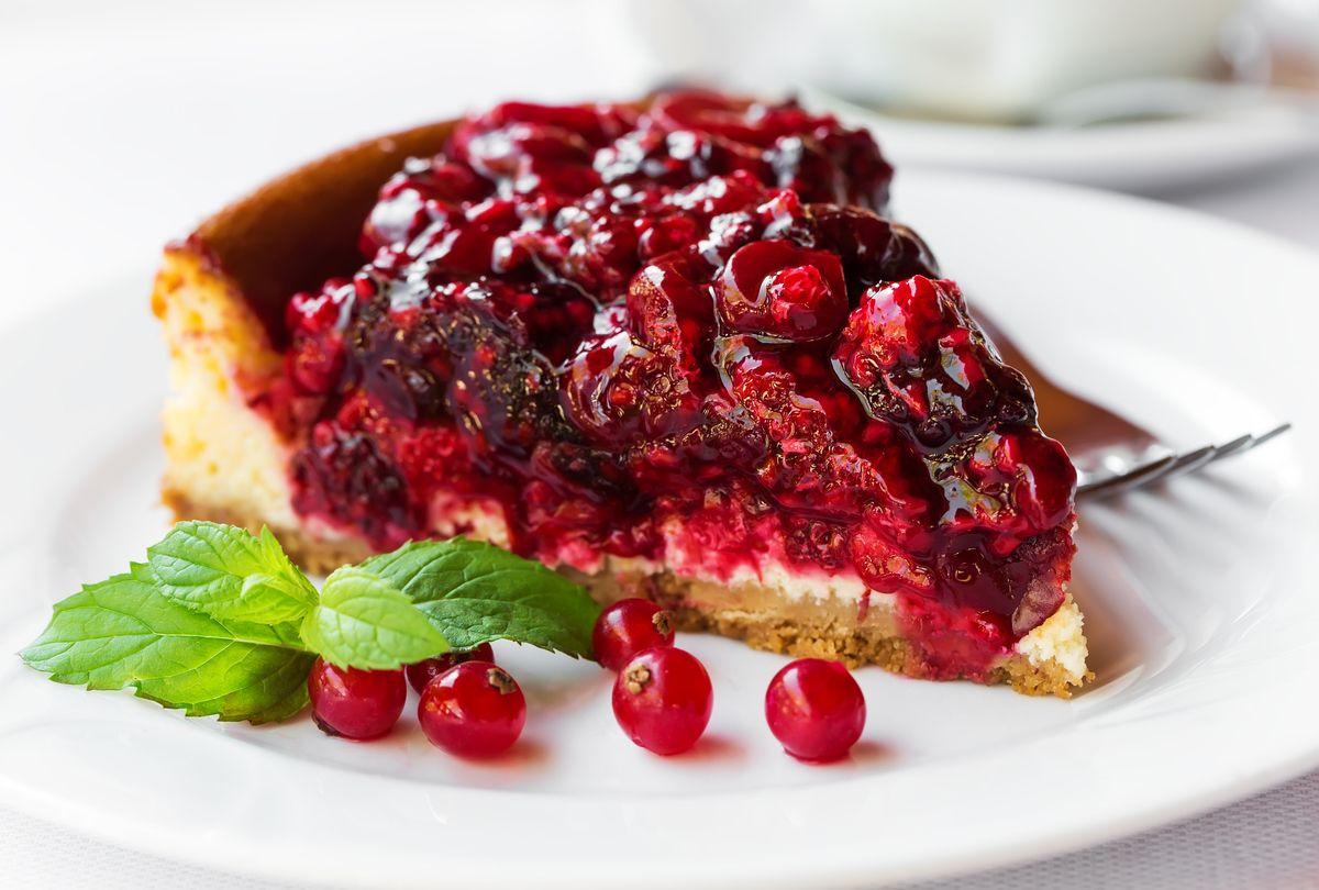 Torta especial de cereja